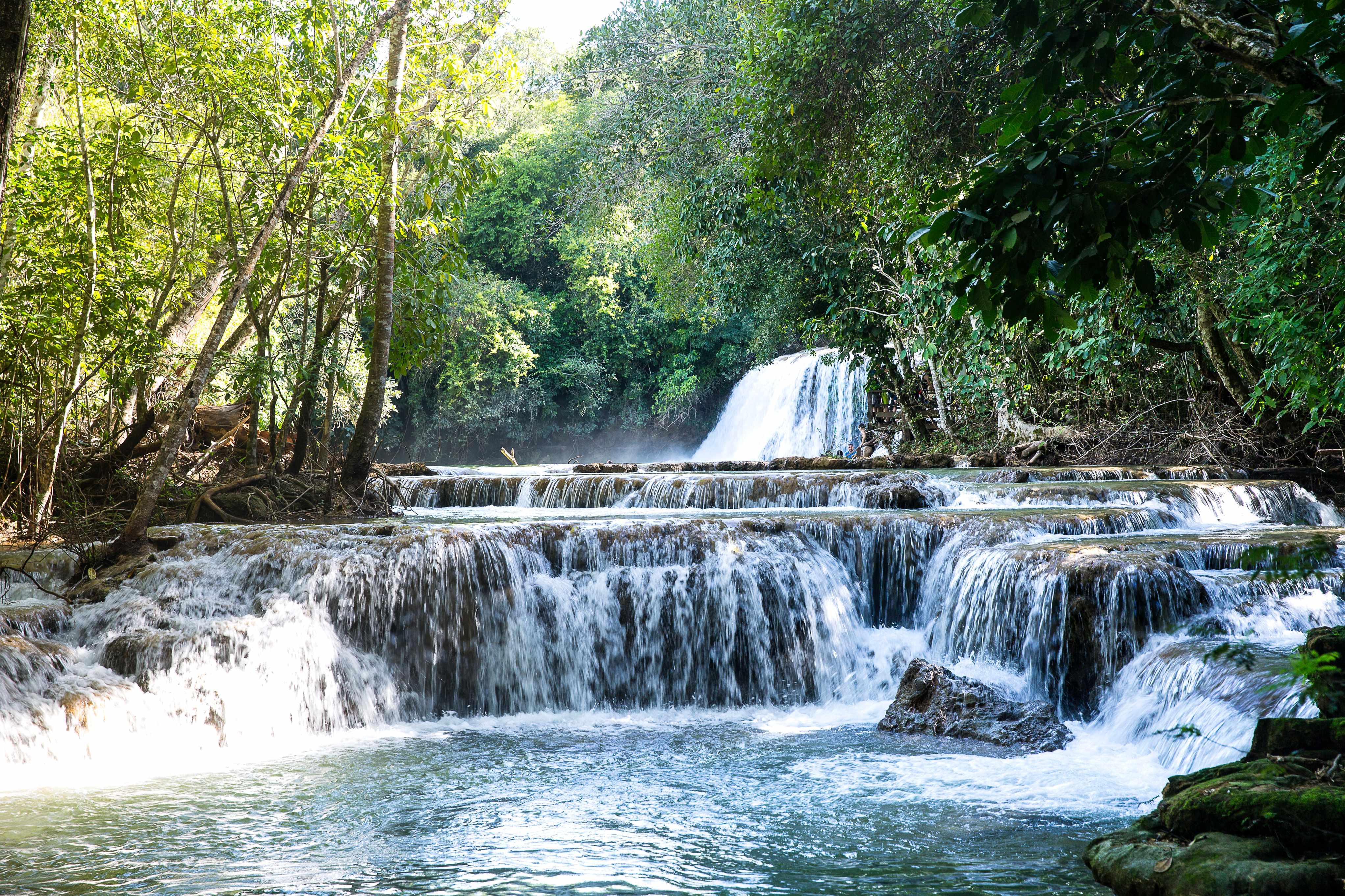 Cachoeira do Rio da Prata em Bonito, Mato Grosso do Sul.